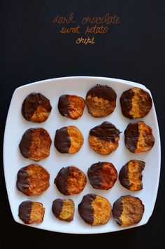 Dark Chocolate Sweet Potato Chips
