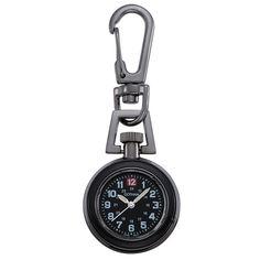 Gotham Unisex Gun Metal Analog Quartz Keychain Clip Fob Watch # for sale online Keychain Clip, Quartz Pocket Watch, Watch Companies, Gotham, Gun, Unisex, Watches, Pendant, Metal