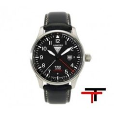 Junkers 150 Years Hugo Junkers Anniversary Automatic Watch with Open Date Gents Watches, Watches For Men, Wrist Watches, Daniel Wellington, Camera Watch, Omega Seamaster, Automatic Watch, Quartz Watch, Fashion Watches
