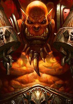 Characters of Wow / Warcraft - Garrosh Hellscream