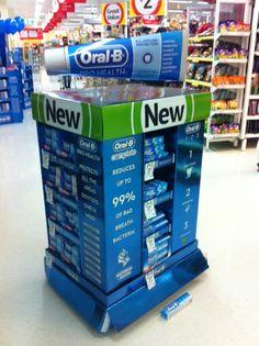 Pallet Displays | Supermarket Design | POP | Pallet display with giant 3D header
