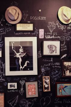 Now this is a gallery wall.