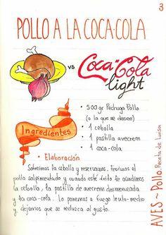 Gastro Andalusi: Pollo a la coca-cola fácil con cus-cus