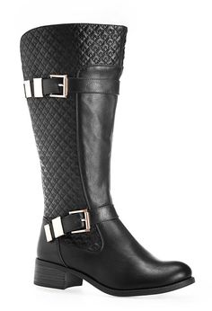 Greenwich Quilted Riding Boot