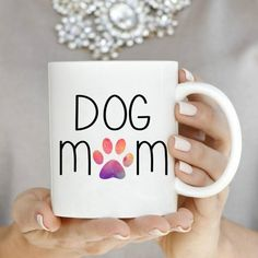 Dog Mom Mugs Ceramic