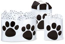 Paw Print Bags - awesome site for anyone hosting an animal event!  TONS of paw print items!!!