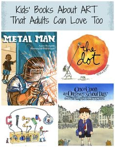 Outstanding children's books about art and creativity