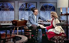 """Clooney and Crosby, one of the film's two romantic pairings, had a 25-year gap between them. 