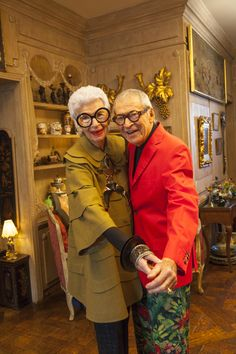 Iris and Carl Apfel at their Home in NYC « the selby