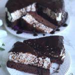Schwarz-Weiß-Torte (glutenfrei, milchfrei, ohne Zuckerzusatz, sojafrei) Muffin, Paleo, Food, No Sugar, Glutenfree, Dessert Ideas, Pies, Food Food, Monochrome