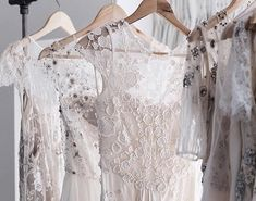 Delicate embroidered Temperley Bridal Gowns by Alice Temperley  Book an appointment at the Notting Hill Temperley Bridal Boutique to view the collection.⠀ ✉️ bridal@temperleylondon.com⠀⠀⠀⠀⠀ 📞 020 7229 8684⠀