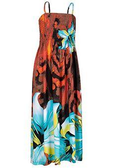 64cd133fa5d Amazon.com  Cristina Love Girls Strappy Floral Dress Age 7-8