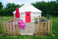 Glamping in Cornwall with Country View Cottages & Yurts - The Aussie Flashpacker World's Most Beautiful, Beautiful Beaches, Most Luxurious Hotels, Luxury Hotels, Cornwall Beaches, Newquay Cornwall, Yurts, Resort Spa, Glamping