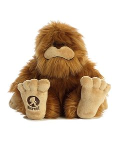 Take a look at this Big Foot Plush Toy today!