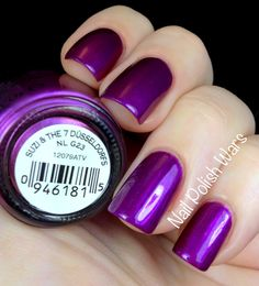 OPI Suzi & the Seven Dusseldorfs.   I absolutely love this purple!!