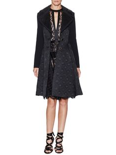 Novah Coat Quilted Details by Temperley London at Gilt