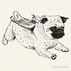 Flying Pug