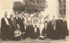 Ottoman Mevlevi Dervishes in Chania, Crete Island, 1890s (Girit'in Hanya Şehrinde Osmanlı Mevlevi Dervişleri)(10) Twitter