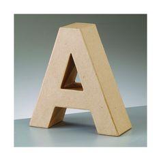 Afbeeldingsresultaat voor paper mache letter a Giant Letters, Large Letters, Autumn Room, Decoupage, Hansel Y Gretel, Paper Mache Letters, A 17, Party Supplies, Bookends