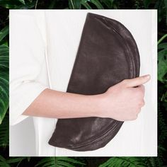 half moon clutch/ erin templeton