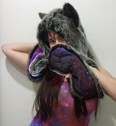 Spirithood X Blackmilk Galaxy Wolf