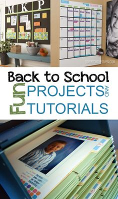 Fun Back to School Projects and Tutorials