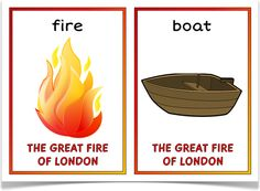 The Great Fire of London Picture Cards Great Fire Of London, The Great Fire, Teaching History, Teaching Resources, Teaching Ideas, Teacher Hacks, Best Teacher, Fire Kids, London Pictures
