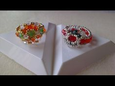 HOW TO MAKE ARABESQUE STYLE RINGS - YouTube