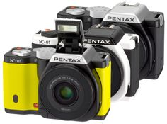 Yes, the rumors were true. Pentax announced the K-01 mirrorless camera. Unlike the Q, this one's got an APS-C sized sensor just as large as their very good K-5. Other important features are 1080 HD video (H.264: 30p, 25p or 24p, ISO output up to 12800, and a burst shooting rate at 6 fps at the fastest. Plus, it features a 3.0-inch 921k-dot LCD and sensor-shift image stabilization.