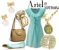 Ariel (park outfit). I really do need more seafoam green in my life/wardrobe.