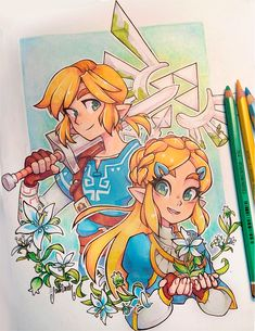 """Bloom - A little bit late but happy The Legend of Zelda: Breath of the Wild release! The Legend Of Zelda, Legend Of Zelda Breath, Breath Of The Wild, Zelda Drawing, Gavity Falls, Princesa Zelda, Hyrule Warriors, Fanart, Link Zelda"