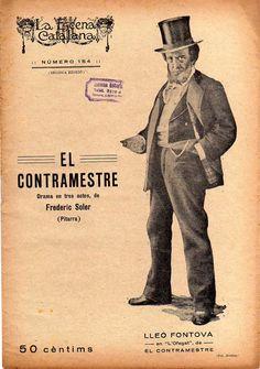 El contramestre - Frederic Soler (Pitarra) -LA ESCENA CATALANA nº 154 - 24-05.1924