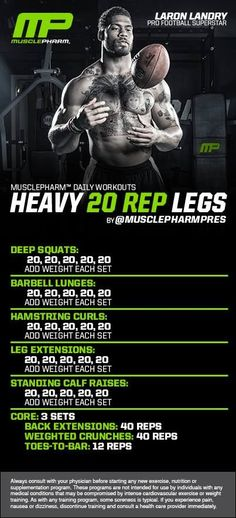 Heavy 20-Rep Legs