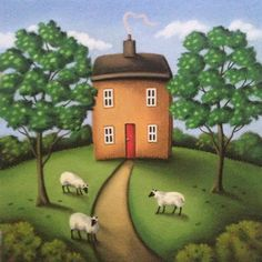 Now that's going to be cheaper than a lawnmower... paul horton art -