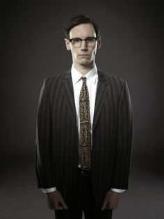 #Gotham Series Premiere, This Fall | On FOX | Cory Michael Smith as Edward Nygma