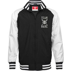 Personalized Baseball Coach Unisex Team Jacket | Available in other styles & colors.