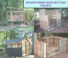 Building Sheds Using Recycled Pallets