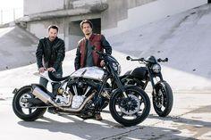 Inside Keanu Reeves's Custom-Motorcyle Shop | Vanity Fair