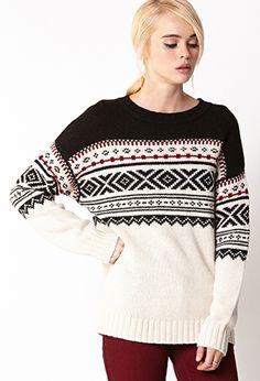 Favorite Fair Isle Sweater   FOREVER21