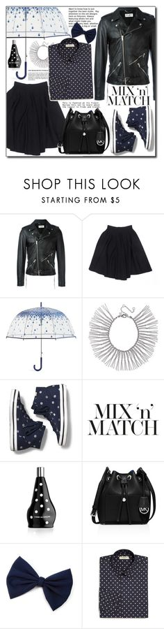 """""""Mix and Match 17"""" by adnaaaa ❤ liked on Polyvore featuring Yves Saint Laurent, Le Mont St. Michel, Vera Bradley, Rebecca Minkoff, Keds, Comme des Garçons, MICHAEL Michael Kors, Burberry and MixandMatch"""