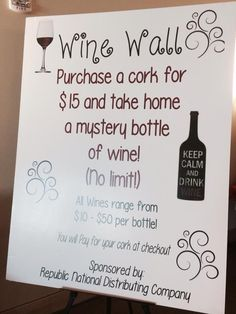 This is a great idea for your next silent auction. We are seeing more and more of our Handbid customers implementing this. You can set up the wine wall with a set of corks that users can buy right from the app and redeem them for a mystery bag of wine. Mix in some more expensive wines with some cheaper ones and make it fun. At the Heritage Elementary school auction on Handbid, their wine wall sold out within minutes.