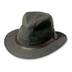 d2de53e2 Amazon.com: Filson Shelter Cloth Packer Hat (Otter Green, Small) 60017:  Sports & Outdoors