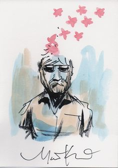 Local artist Matt Kindt sent us this exclusive illustration from his new series MIND MGMT!
