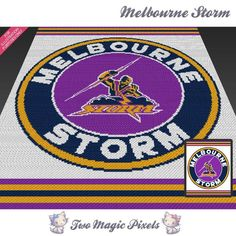 Looking for your next project? You're going to love Melbourne Storm C2C Crochet…