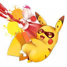 Pikachu - Splatoonachu