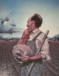 "Contemplating....Gene Boyer. ""Consider the Farmer."""