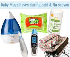 7 baby must-haves during cold & flu season! via @Sara W