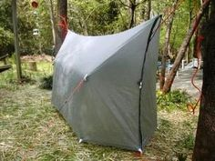 With the right tarp your hammock can become a wind and rain resistant tent