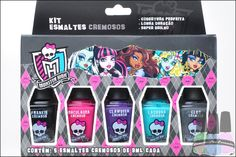 Esmaltes Monster High