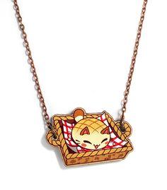 Nyanpan Basket Necklace